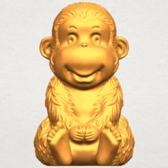 Download free 3D printer designs Monkey A01, GeorgesNikkei