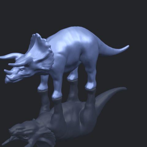 17_TDA0759_Triceratops_01B00-1.png Télécharger fichier STL gratuit Triceratops 01 • Modèle pour imprimante 3D, GeorgesNikkei