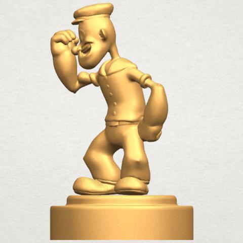 TDA0482 Popeye A02.png Download free STL file Popeye • 3D printer design, GeorgesNikkei