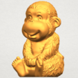 A02.png Download free STL file Monkey A01 • 3D printer model, GeorgesNikkei