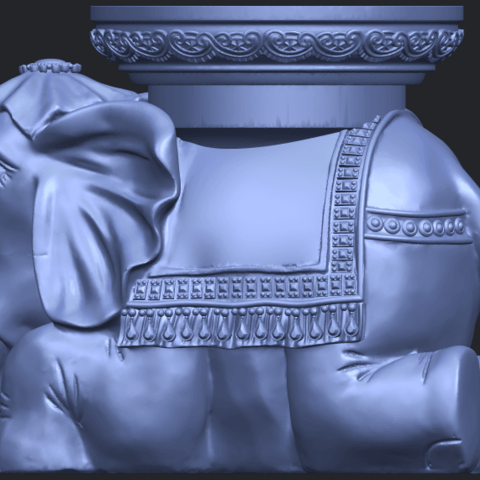 11_TDA0501_Elephant_TableB03.png Download free STL file Elephant Table • 3D printing object, GeorgesNikkei