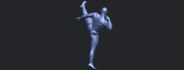 06_TDA0547_Man_KickingB08.png Télécharger fichier STL gratuit Man Kicking • Objet pour impression 3D, GeorgesNikkei