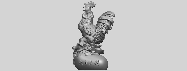 08_TDA0321_CockA02.png Télécharger fichier STL gratuit Coq 01 • Design pour impression 3D, GeorgesNikkei