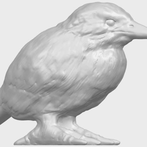 TDA0752_KingfisherA07.png Télécharger fichier STL gratuit Martin-pêcheur • Objet pour impression 3D, GeorgesNikkei