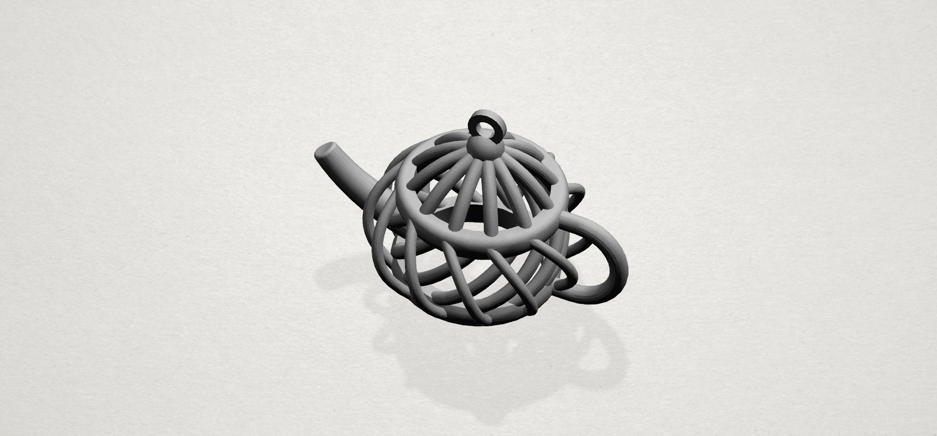 Necklace - Tea pot-A01.png Download free STL file Necklaces -Tea pot • 3D print object, GeorgesNikkei