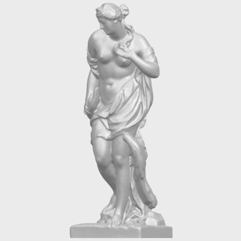 25_TDA0173_Naked_Girl_with_Goose_88mmA02.png Download free STL file Naked Girl with Goose • 3D print template, GeorgesNikkei
