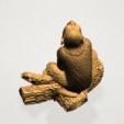 Chinese Horoscope09 - A04.png Télécharger fichier STL gratuit Horoscope Chinois 09 Singe 09 Singe • Objet pour imprimante 3D, GeorgesNikkei