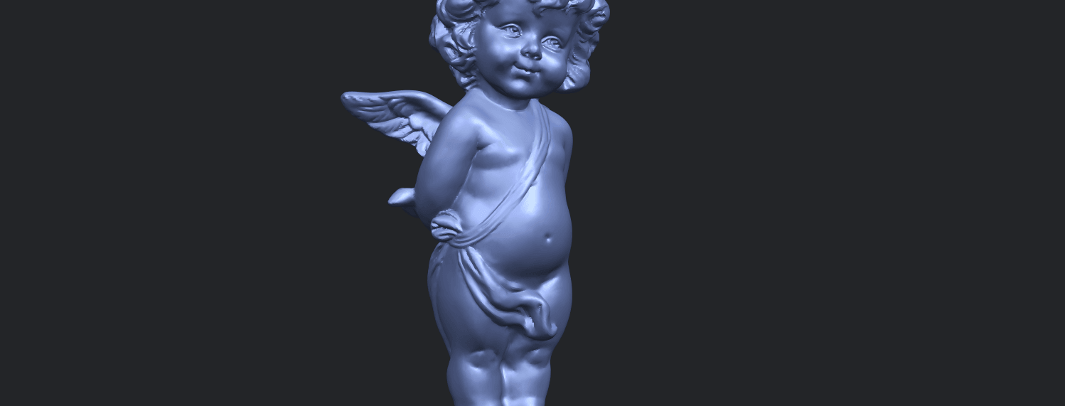 15_TDA0478_Angel_Baby_01A10.png Download free STL file Angel Baby 01 • 3D print template, GeorgesNikkei