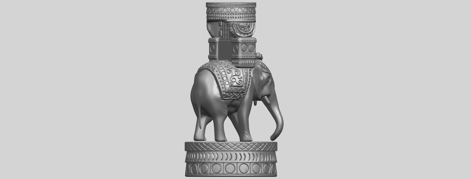 TDA0731_Elephant_08A08.png Download free STL file Elephant 08 • 3D printable template, GeorgesNikkei