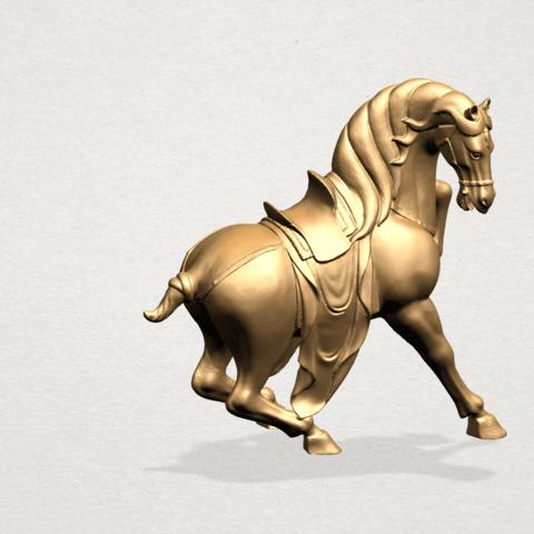 Horse III - A02.png Télécharger fichier STL gratuit Cheval 03 • Design imprimable en 3D, GeorgesNikkei