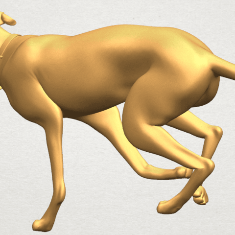 TDA0529 Skinny Dog 01 A07.png Download free STL file Skinny Dog 01 • Object to 3D print, GeorgesNikkei