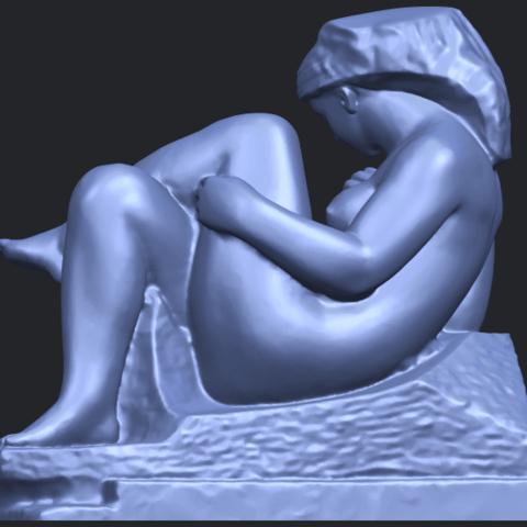 20_TDA0170_Naked_Girl_(xiii)_88mmB06.png Download free STL file Naked Girl 13 • 3D print design, GeorgesNikkei