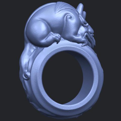 07_TDA0504_Pi_Xiu_RingB06.png Download free STL file Pi Xiu Ring • Object to 3D print, GeorgesNikkei