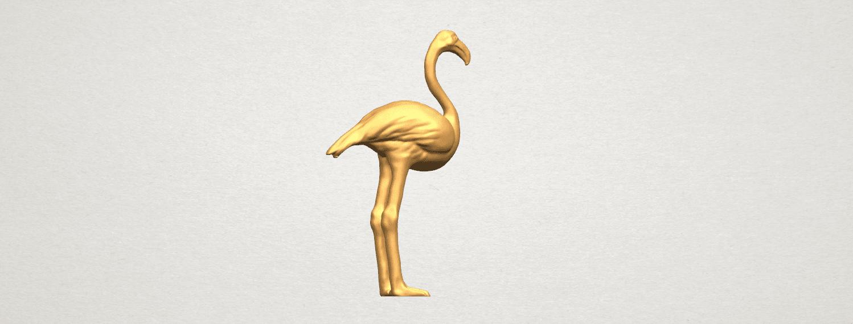 TDA0597 Flamingo 01 A04.png Download free STL file Flamingo 01 • 3D printing model, GeorgesNikkei