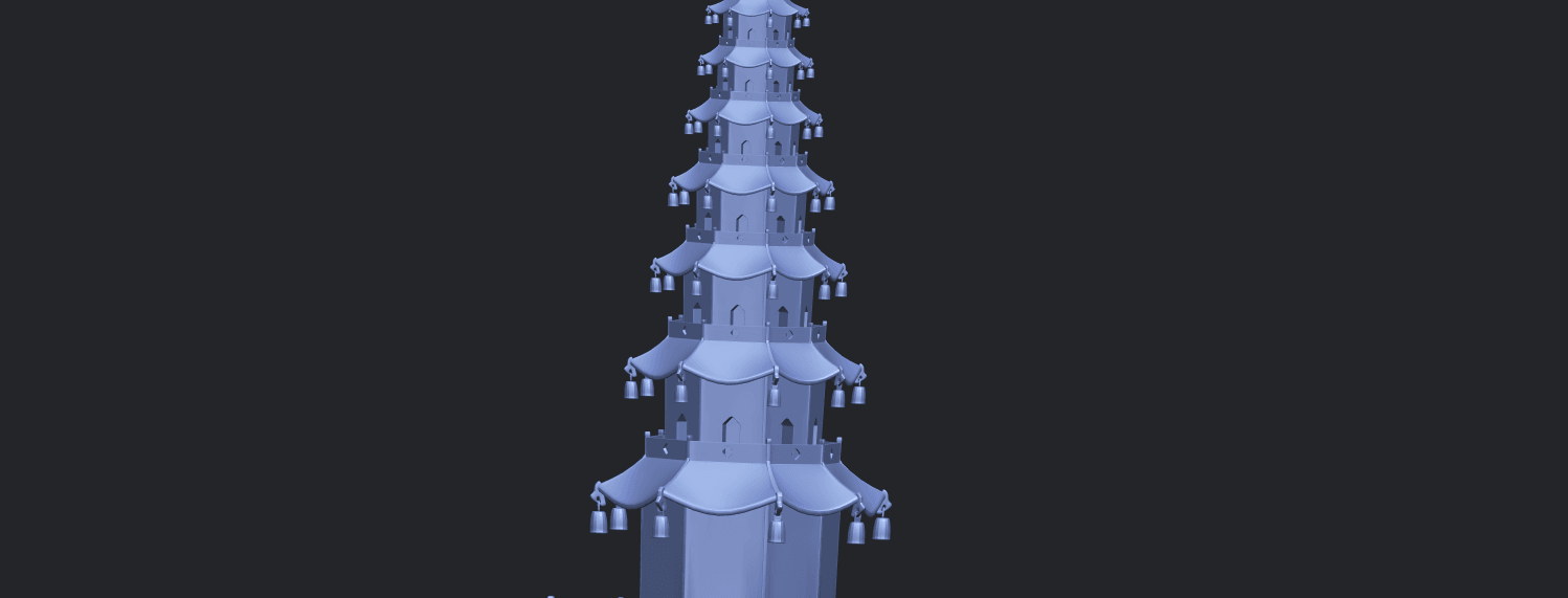 03_TDA0623_Chiness_pagodaA10.png Download free STL file Chiness pagoda • Design to 3D print, GeorgesNikkei