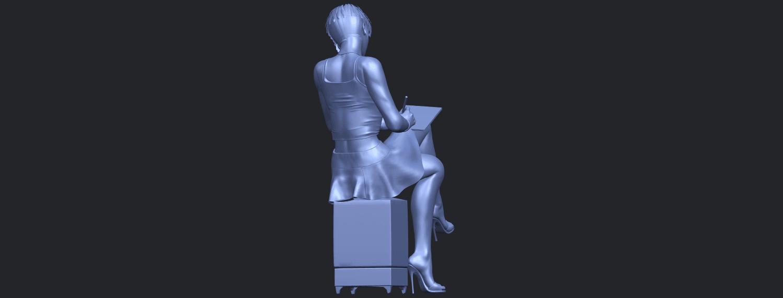 19_TDA0471_Beautiful_Girl_05_B07.png Download free STL file Beautiful Girl 05 • 3D printing template, GeorgesNikkei