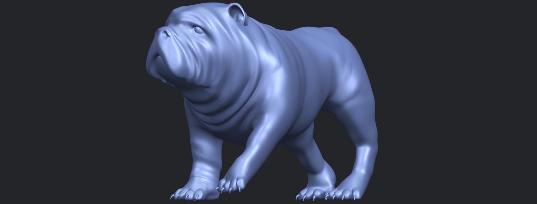 14_TDA0520_Bull_Dog_01B02.png Télécharger fichier STL gratuit Chien de taureau 01 • Plan pour impression 3D, GeorgesNikkei