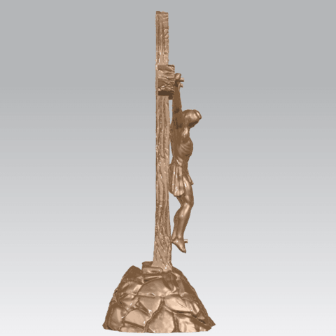 TDA0229 Jesus with cross (ii) A05.png Download free STL file Jesus with cross 02 • Template to 3D print, GeorgesNikkei