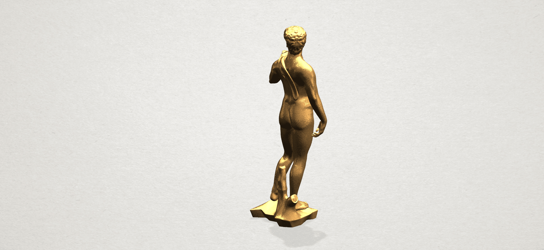 Michelangelo(i) -B04.png Download free STL file Michelangelo 01 • 3D printable template, GeorgesNikkei