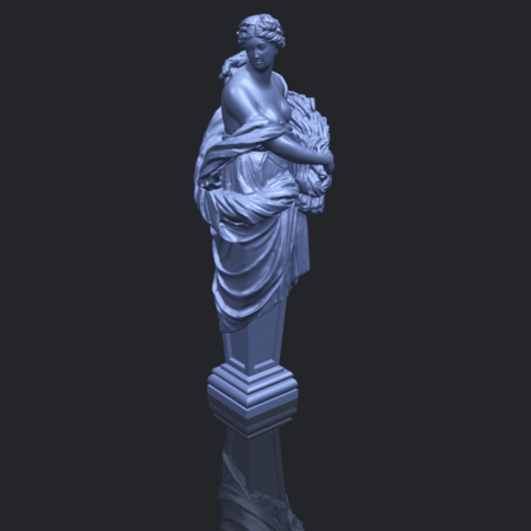 12_TDA0260_Sculpture_AutumnB00-1.png Download free STL file Sculpture - Autumn • 3D print template, GeorgesNikkei