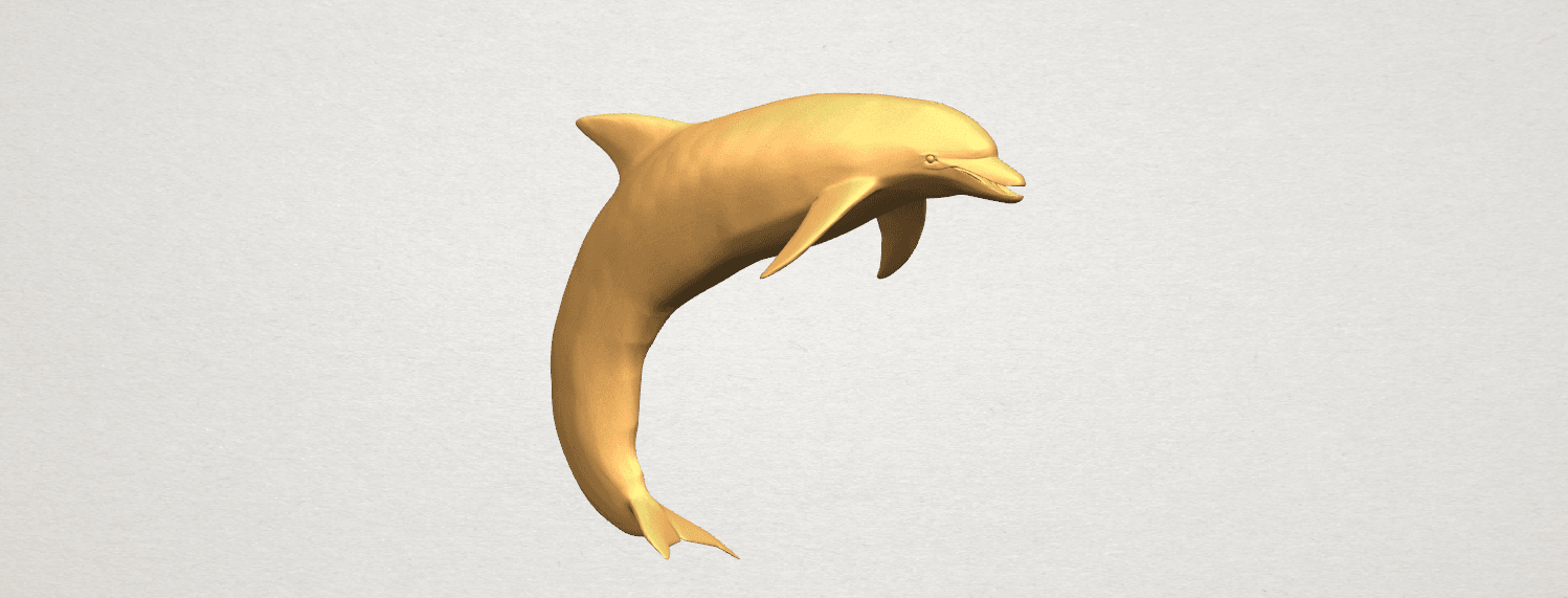 TDA0613 Dolphin 03 A05.png Download free STL file Dolphin 03 • Design to 3D print, GeorgesNikkei