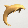 TDA0613 Dolphin 03 A05.png Télécharger fichier STL gratuit Dauphin 03 • Objet pour impression 3D, GeorgesNikkei