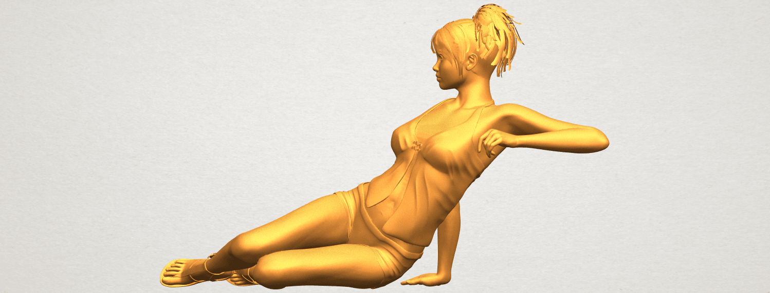 A03.png Download free STL file Naked Girl F08 • Object to 3D print, GeorgesNikkei