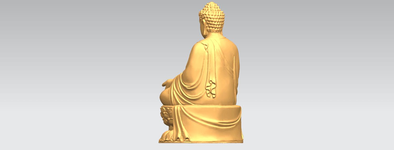 TDA0459 Gautama Buddha (iii) B03.png Download free STL file Gautama Buddha 03 • 3D printer template, GeorgesNikkei