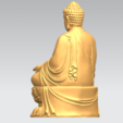Download free 3D printer designs Gautama Buddha 03, GeorgesNikkei