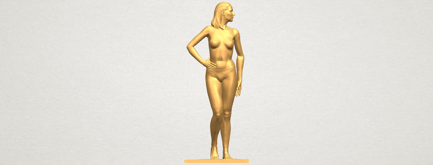 TDA0465 Naked Girl 19 A01.png Download free STL file Naked Girl 19 • 3D printer template, GeorgesNikkei