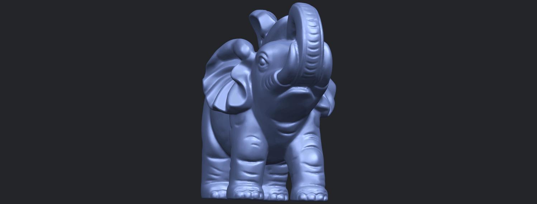 09_Elephant_02_150mmB01.png Télécharger fichier STL gratuit Eléphant 02 • Plan imprimable en 3D, GeorgesNikkei