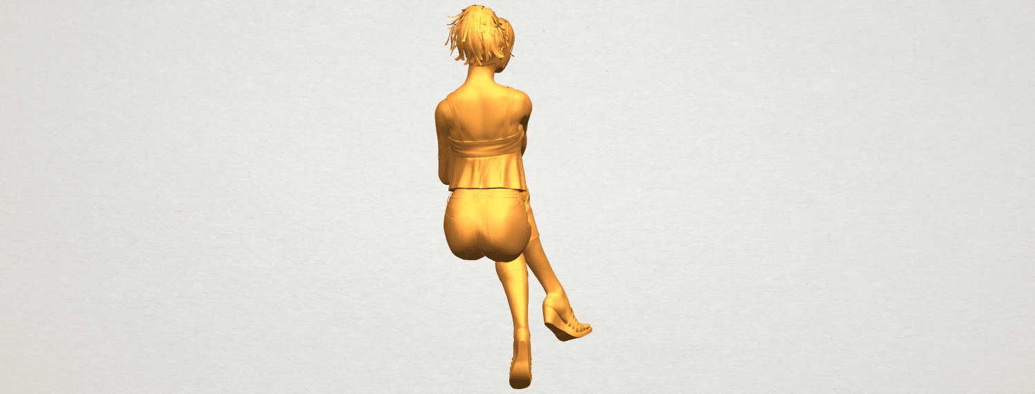 A10.png Download free STL file Naked Girl H06 • Object to 3D print, GeorgesNikkei