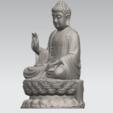 Impresiones 3D gratis Gautama Buda 03, GeorgesNikkei