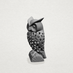 Download free STL file Voronoi Owl • 3D printer design, GeorgesNikkei
