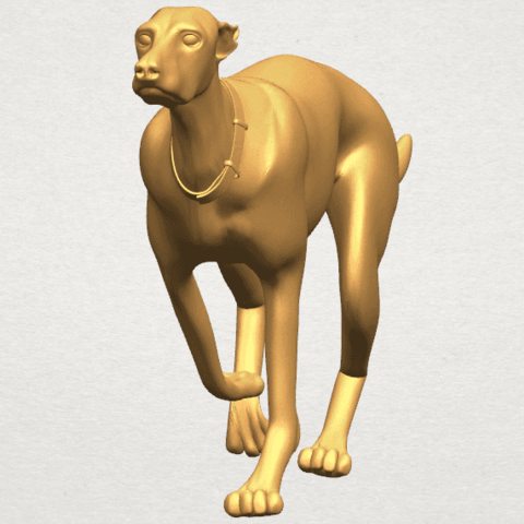 TDA0529 Skinny Dog 01 A04.png Download free STL file Skinny Dog 01 • Object to 3D print, GeorgesNikkei