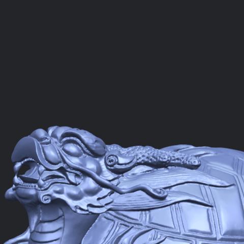 01_TDA0333_Dragon_TortoiseA10.png Télécharger fichier STL gratuit Tortue dragon • Objet imprimable en 3D, GeorgesNikkei