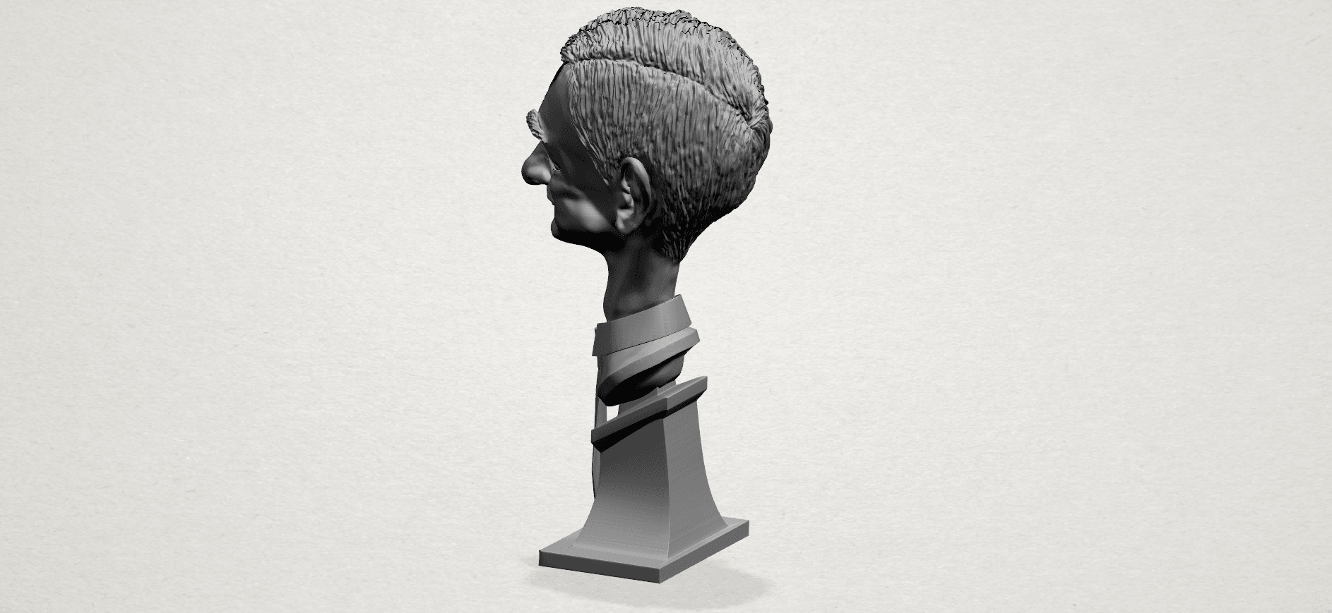 Sculpture of a man - A03.png Download free STL file Sculpture of a man 01 • 3D printable object, GeorgesNikkei