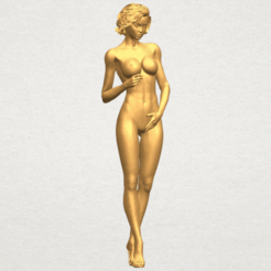 Free 3D printer model Naked Girl 18, GeorgesNikkei