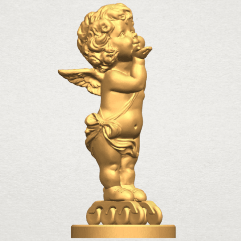 TDA0480 Angel Baby 03 A08.png Download free STL file Angel Baby 03 • 3D printing template, GeorgesNikkei