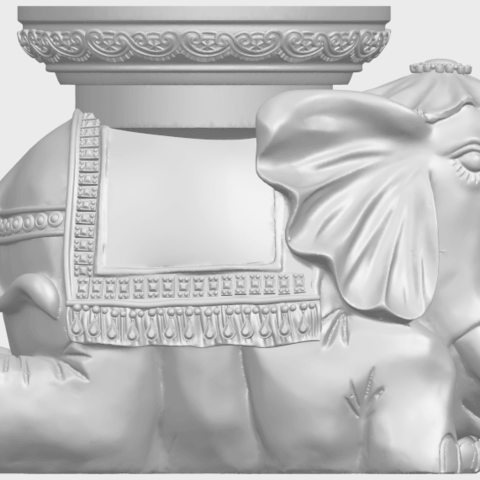 11_TDA0501_Elephant_TableA08.png Download free STL file Elephant Table • 3D printing object, GeorgesNikkei