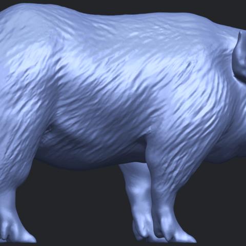 13_TDA0320_Pig_ii_B06.png Download free STL file Pig 02 • 3D printable object, GeorgesNikkei