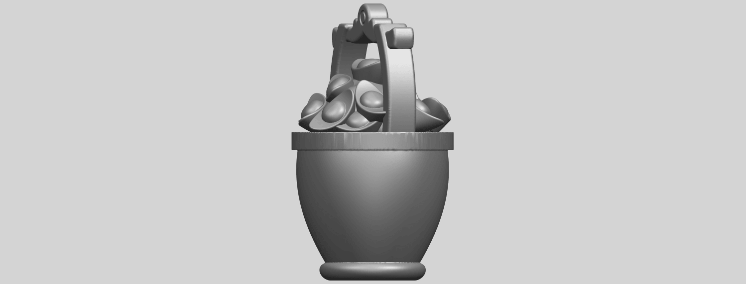 13_TDA0502_Gold_in_BucketA03.png Download free STL file Gold in Bucket • 3D print object, GeorgesNikkei