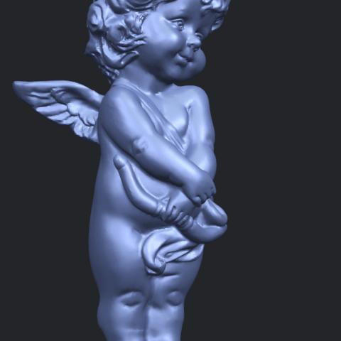 16_TDA0479_Angel_Baby_02A10.png Télécharger fichier STL gratuit Bébé Ange 02 • Plan pour imprimante 3D, GeorgesNikkei