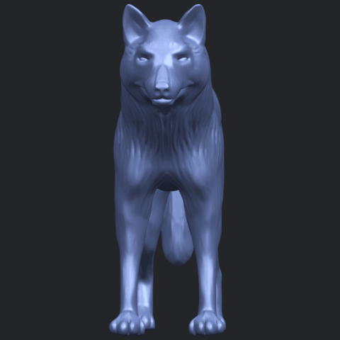 14_TDA0610_WolfB09.png Download free STL file Wolf • 3D printable design, GeorgesNikkei