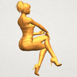 Free 3D print files Naked Girl H05, GeorgesNikkei