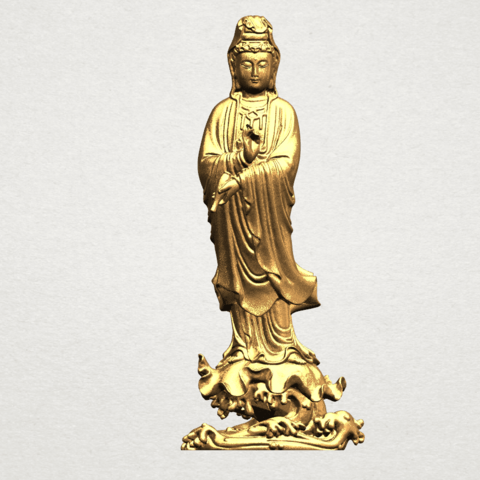 Télécharger fichier imprimante 3D gratuit Bouddha Avalokitesvara - Debout 05, GeorgesNikkei