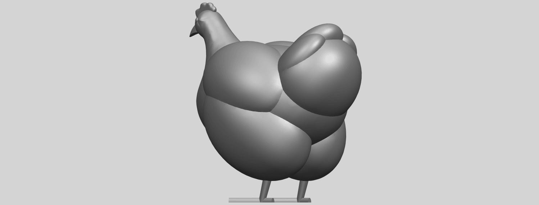 17_TDA0484_HenA05.png Télécharger fichier STL gratuit Poule • Design pour imprimante 3D, GeorgesNikkei