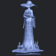 Free 3D printer designs Girl with hat, GeorgesNikkei