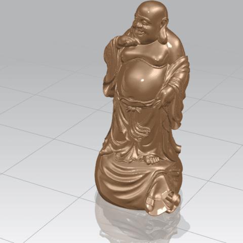 TDA0234 Metteyya Buddha 08 A01.png Download free STL file Metteyya Buddha 08 • 3D printing model, GeorgesNikkei