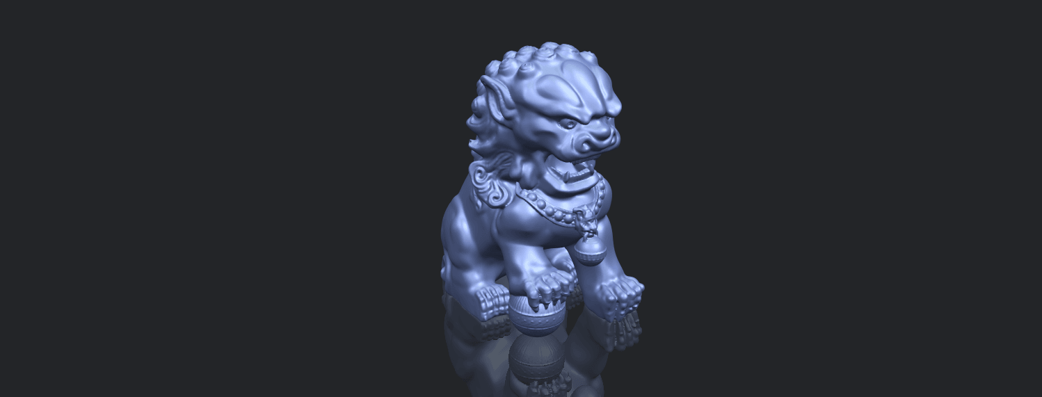 04_TDA0500_Chinese_LionB00-1.png Download free STL file Chinese Lion • 3D printing object, GeorgesNikkei
